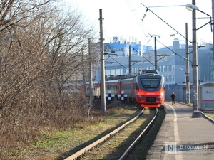 Утренняя электричка для объезда ольгинской пробки запущена до проспекта Гагарина